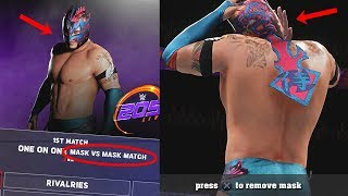 WWE 2K18 - What Happens if Kalisto LOSES a Mask vs Mask match in WWE 2K18 Universe?