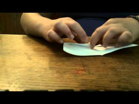 How to Make a Heart shaped Bookmark Tutorial 1