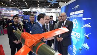 Pakistan's defence products exhibited at the world's largest defence exhibition Eurosatory in Paris