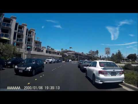 Drive from Imperial Beach to Coronado Bridge San Diego CA in 4x speed