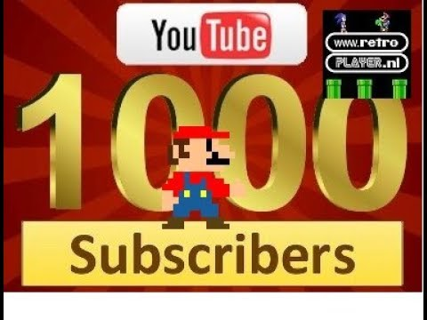 1K ! WE DID IT !! 1000 SUBSCRIBERS !!! + GiveAway