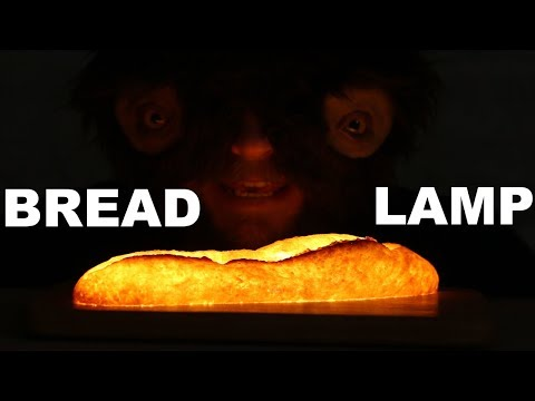 How to make a lamp out of bread