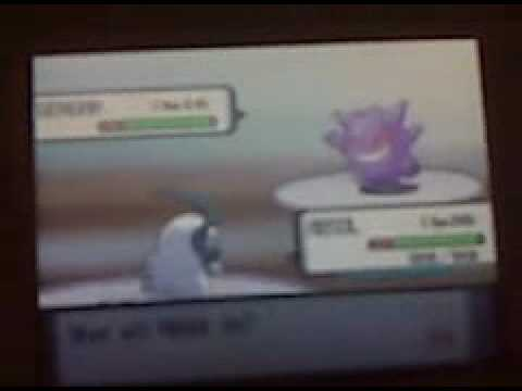 How to Get Gengar in Pokemon Diamond/Pearl/Platinum