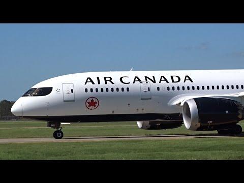 NEW LIVERY Air Canada Boeing 787-8 Dreamliner [C-GHPQ] | Landing | Brisbane Airport