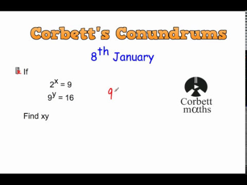 Corbett's Conundrum - 8th January