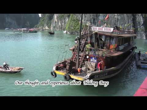 London/England [ Halong Bay Vietnam ] to Singapore by train & bus adventure # 30