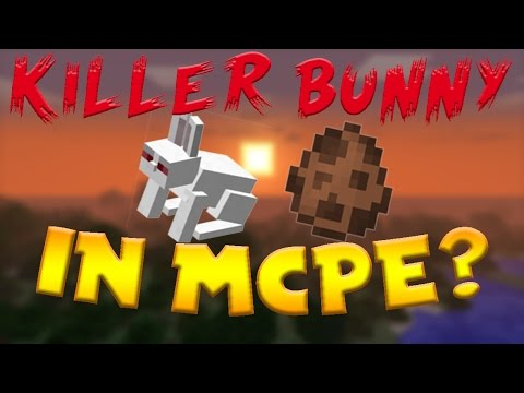 THE KILLER BUNNY IS IN MCPE!??