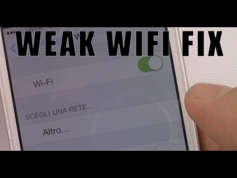 Iphone 4 Segnale wifi debole - IPhone 4 Poor WIFI Signal Fix
