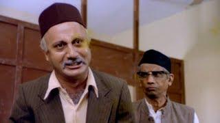 Anupam Kher Reacts On The Corrupt System - Custom Department Superhit Scene - Saaransh
