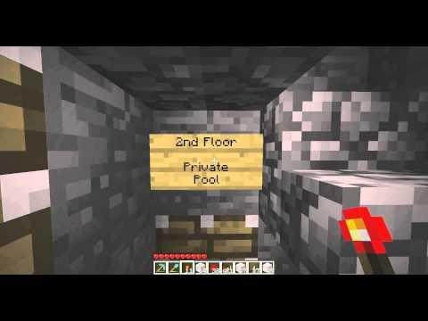 Minecraft - Thank You - Simple Piston Elevator (Video Response)