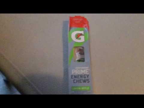 Good or bad:Gatorade chews