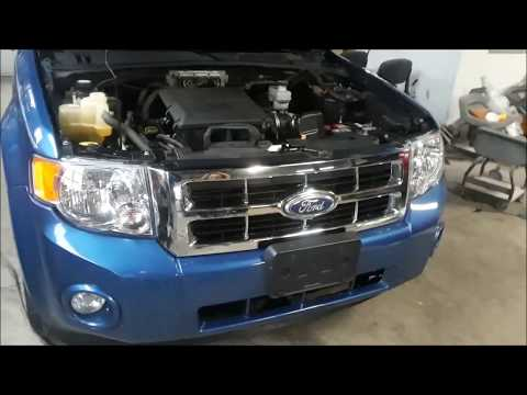Ford Escape & Mercury Mariner Head light Bulb Turn signal Replacement