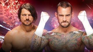 AJ Styles vs CM Punk Promo | WWE Dream Match