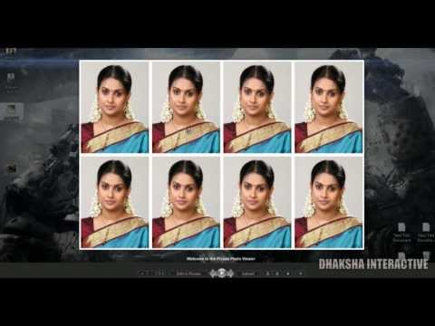 How to Create Passport size Photos in Photoshop CS6