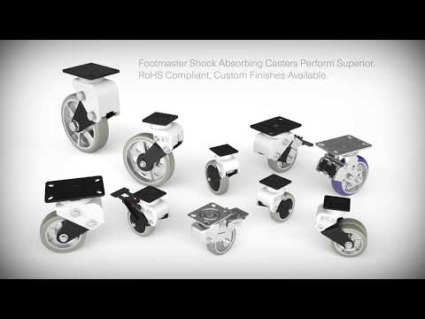 Footmaster: Shock Absorbing Casters