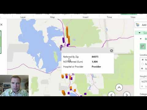 Excel Video 508 3D Maps Legends and Data Cards