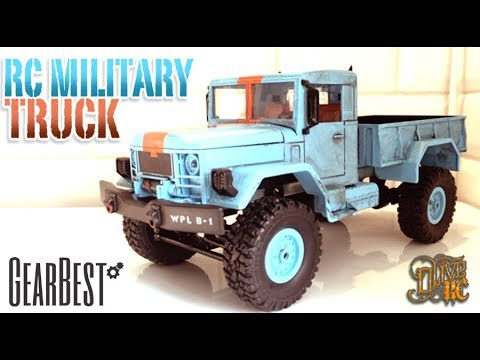 RC MILITARY TRUCK  1/16  - 11.11Gearbest