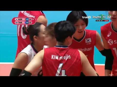 Xxx Mp4 Full Match ไทย Vs เกาหลีใต้ วอลเลย์บอลหญิงชิงเเชมป์เอเชีย 2019 3gp Sex