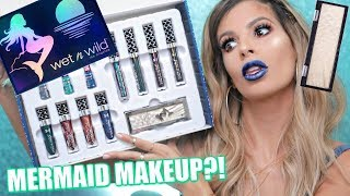 NEW Wet N Wild MERMAID MAKEUP COLLECTION 2017   HIT OR MISS?
