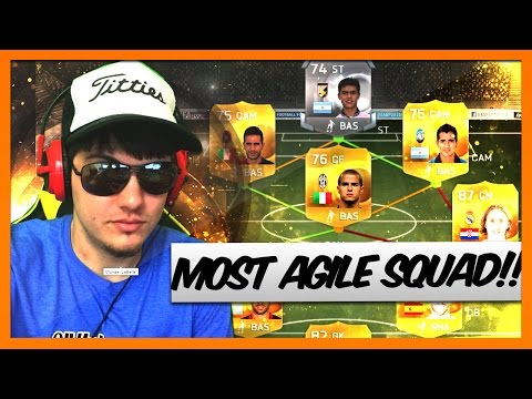 FIFA 15 MOST AGILE HYBRID SQUAD BUILDER | THE BEST FUT GUIDE!!