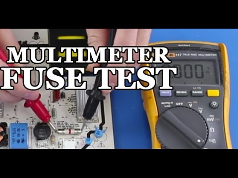 How to Test a Fuse on Your TV Power Supply - TV Repair