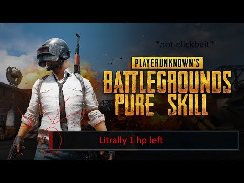 My sickest outplay in PUBG (ONLY SKILL NO LUCK!) !!!?!?