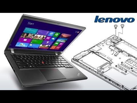 LENOVO T440s - Upgrading RAM and Hard Drive