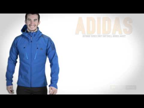 adidas outdoor Terrex Swift Soft Shell Jacket - Hooded (For Men)