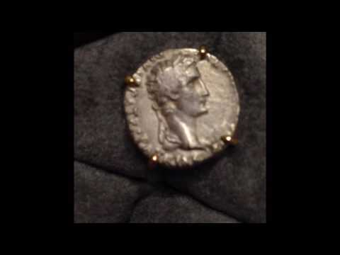 3rd Century Silver Roman Coins made into Cufflinks