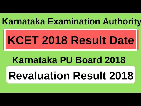 When will KCET and Revaluation result 2018 announce?|Expected Date|result Websites