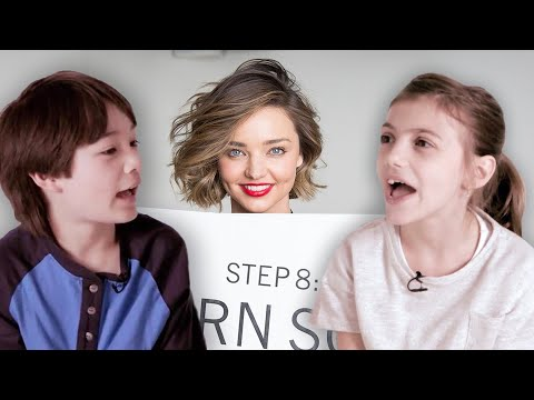 Miranda Kerr Teaches Kids How to Speak with an Australian Accent | Vanity Fair