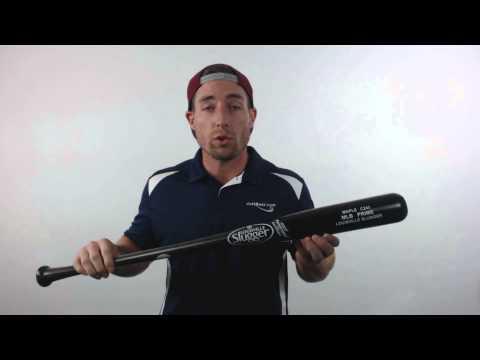 Louisville Slugger MLB Prime Maple C243 High Gloss Wood Baseball Bat: WBVM243-BD