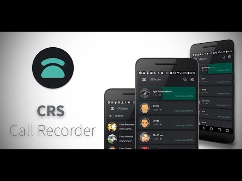 CRS Call Recorder App for Android