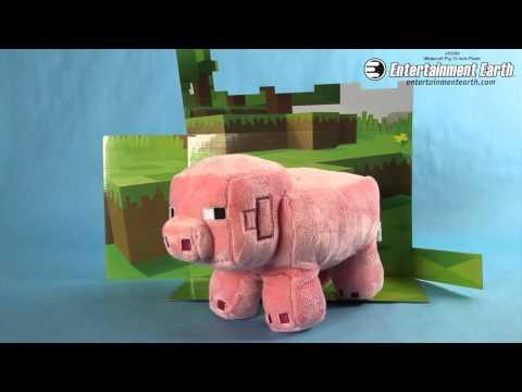 Minecraft Pig 12-Inch Plush