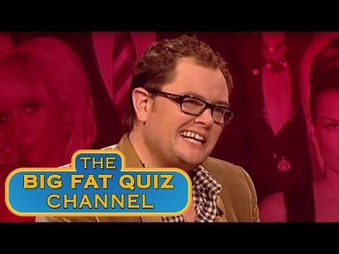 If Alan Carr Slept With Women - The Big Fat Quiz Of The Year 2010