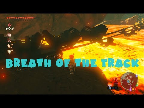 The legend of Zelda : Breath of the Track