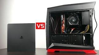 Playstation 4 Pro vs $550 Gaming PC