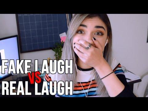 FAKE LAUGH VS REAL LAUGH
