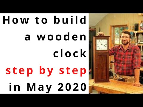 How to Make a Clock out of Wood