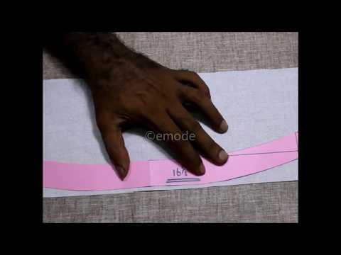 Tips for How to cut and stitch shirt collar Hindi DIY tutorial, shirt collar kurti stitching