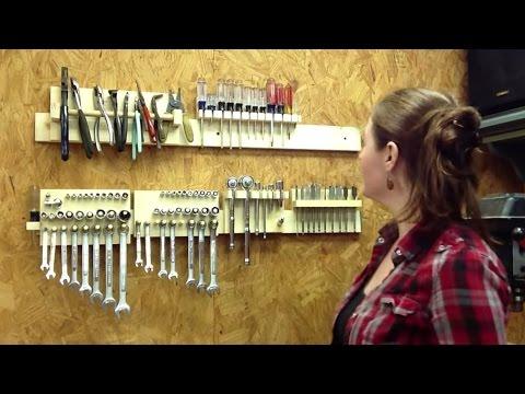 DIY Hand Tool Storage System