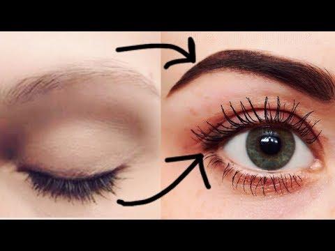 How to GROW THICK Eyelashes & Eyebrows DIY Hair Growth Serum   JSuper Kaur