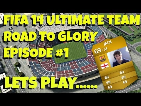 FIFA 14 Lets Play Ultimate Team Episode #1-