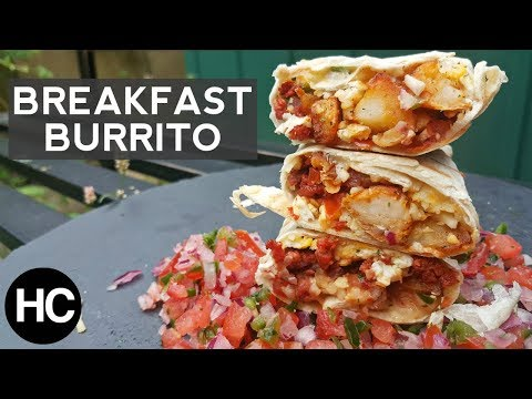 Breakfast Burritos Recipe - How to make Breakfast Burrito