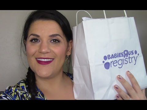 Babies R Us Baby Registry Free Gift Unboxing   Beautify Your Life