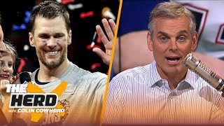 Colin Cowherd reacts to Tom Brady winning his 6th Super Bowl | NFL | THE HERD