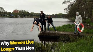 Why Women Live Longer Than Men | Funniest Fail Moments