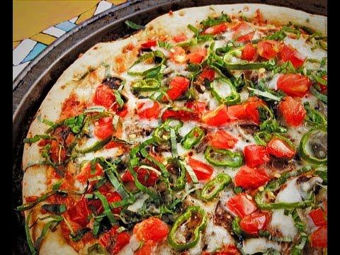 how to make vegan vegetarian pizza