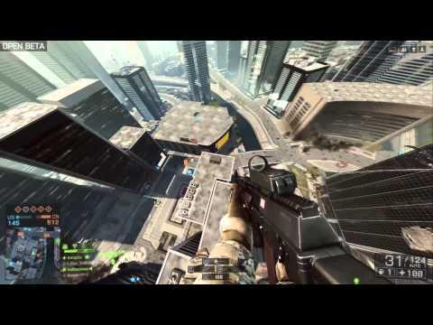 PC Battlefield 4 Beta - Helicopter Gameplay - AMD 7850 2Gb CrossfireX
