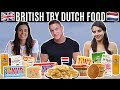 BRITISH Try DUTCH SNACKS amp FOOD For The First Time